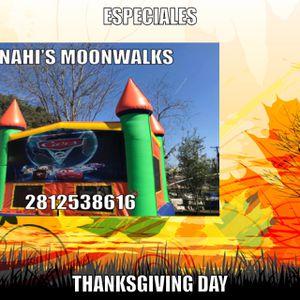 Anahi's Moonwalks for Sale in Houston, TX