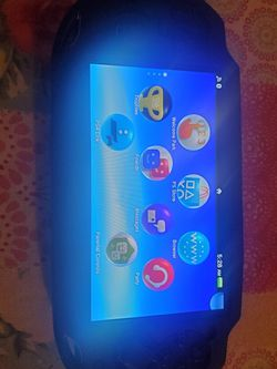 Ps Vita With Games for Sale in Auburndale,  FL