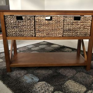 Cameron Console Table + Drawers 30H x 44W x 16D for Sale in Alexandria, VA