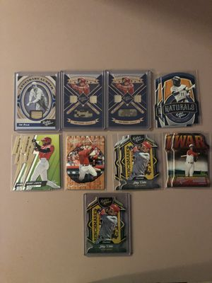 2019 Leather & Lumber Cincinnati Reds lot of baseball cards for Sale in Rutland, MA