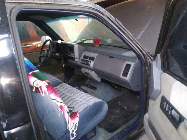 TRADE !!!!!94. Chevy Truck V8 SWB STEPSIDE