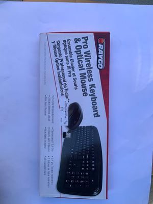 Wireless Keyboard & Optical Mouse for Sale in Los Angeles, CA