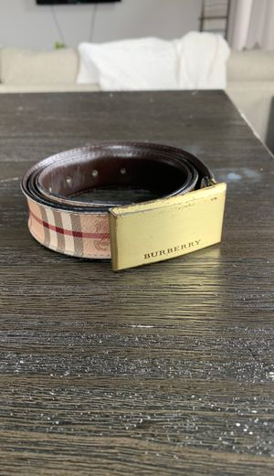 Burberry belt size 38/95 for Sale in Franklin, TN