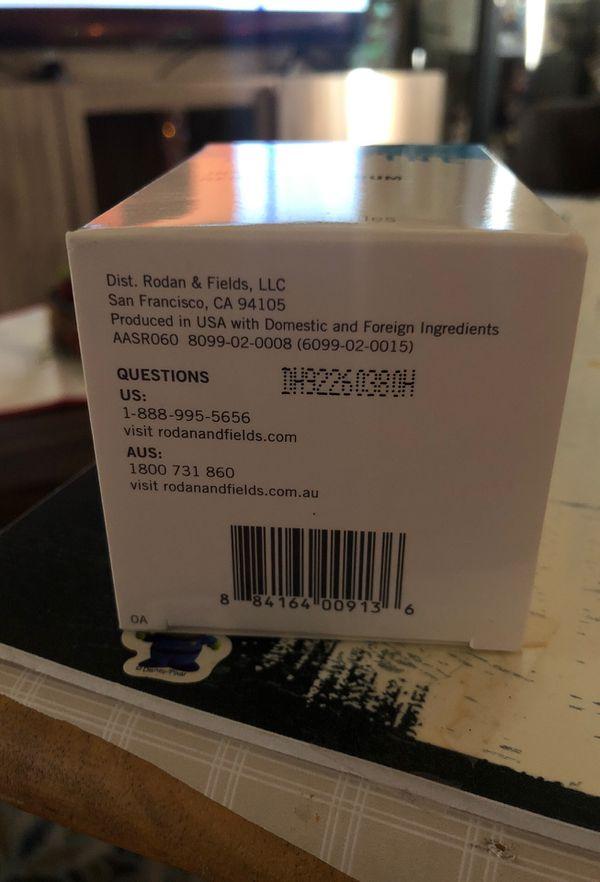 Rodan and fields redefine intensive renewing serum 60 caps