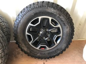 Jeep rubicon wheels for Sale in Modesto, CA