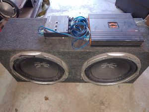 """Sony 12"""" Subwoofers, LC6 Preamp Converter and 1600 watt Amplifier for Sale in Vancouver, WA"""
