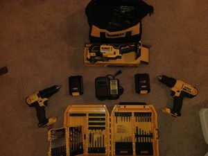DeWalt 20v MAX Tools-Batteries-Chargers-Bits for Sale in San Diego, CA