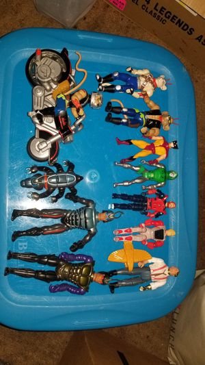 Lot of 80's and 90's action figure Silver Hawks Biker Mice.... for Sale in Seffner, FL