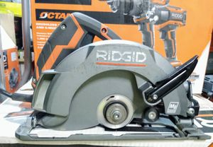 RIDGID 12 Amp Corded 6-1/2 in. Magnesium Compact Framing Circular Saw for Sale in Temple, GA