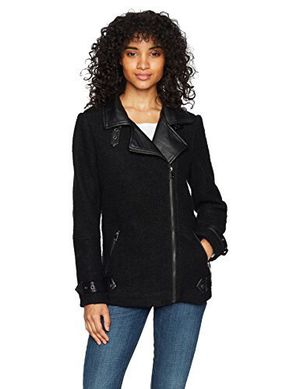 Brand New Lira Clothing Faux Leather Trim Moto Coat for Sale in Seattle, WA