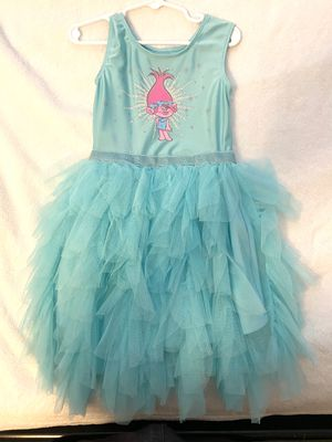 Trolls girl dress Size 5T for Sale in Kingwood, TX