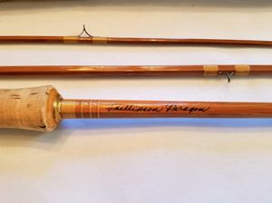 Phillipson Paragon 9' Bamboo Fishing Trout Rod with Original Tube & Sackcloth case for Sale in Laguna Woods, CA