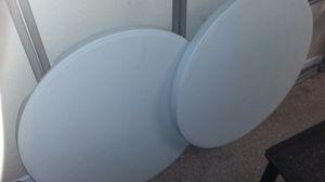 2 hrand new round foldingvtsbles for Sale in Cypress Gardens, FL