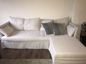 Sectional Couch with Storage Cube for Sale in Columbus, OH