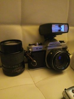 Pentax Camera with extra lens for Sale in LAUREL PARK,  WV