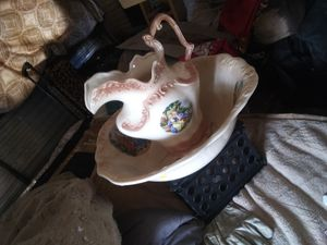 Vintage English water holder and bowl. S et for Sale in Abilene, TX