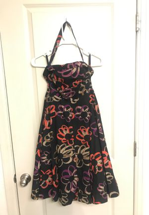 Girls from Savoy- black flower dress for Sale in Lone Tree, CO
