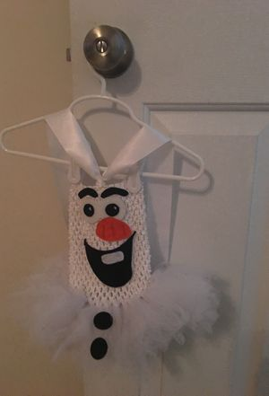 Olaf outfit-Tutu for Sale in Canton, MI
