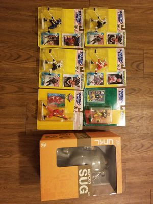 Vinyl toys and starting line sports figure for Sale in Austin, TX