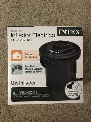 Intex quick fill electric air pump for Sale in Falls Church, VA