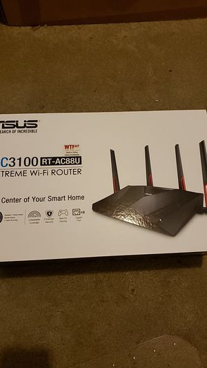 Asus Extreme Wi-fi Router for Sale in Tempe, AZ