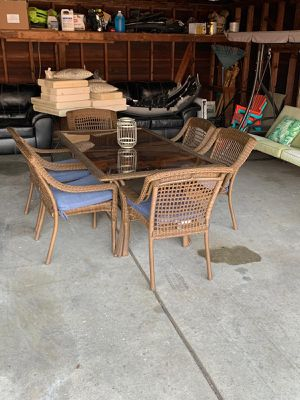 Brand new outdoor dining set for Sale in Dearborn Heights, MI
