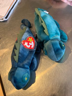 2 blue Iggy Beanie Babies for Sale in Bexley, OH
