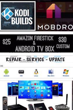 "Android TV Box & Amazon FireStick ""Repair Update Service"" Free Customer Service for Sale in Hemet,  CA"