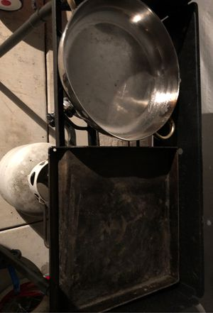 Two burner frying pan, gas tank for Sale in Stockton, CA