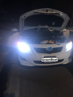 Greenboat Switchback H11 H16 H8 LED Fog Light Dual Color Yellow 3000K White 6000K for Sale in Artesia, CA