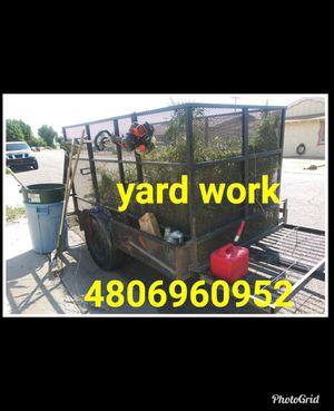 Free yard blowing for Sale in Glendale, AZ