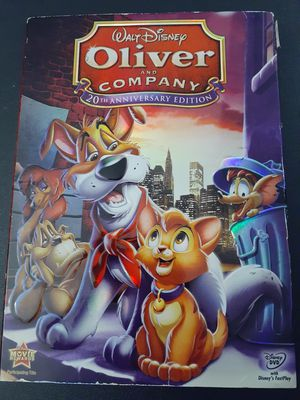 Disney's OLIVER & COMPANY 20th Anniversary Edition (DVD) for Sale in Lewisville, TX