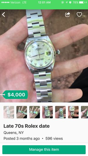 Rolex Gucci designer... for Sale in Queens, NY