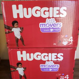 2 Boxes Of Huggies Diapers Size 4 for Sale in Chula Vista, CA