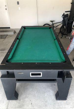 Free pool table/air hockey for Sale in Las Vegas, NV