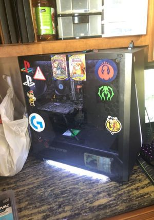 Gaming pc i7 7700k/ Gtx1060 /16 gb ram /windows 10/ 120 gb of space/ runs up to 200 FPS on fortnite view distance far and the rest low for Sale in San Fernando, CA