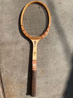 Vintage wilson jack kramer tennis racket for Sale in Arcadia, CA