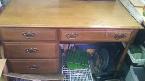 Free wooden desk for Sale in Lakewood, CO