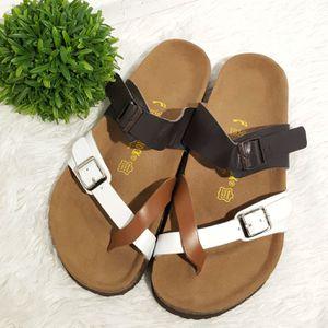Birkenstock tri color buckle sandal for Sale in Tolleson, AZ