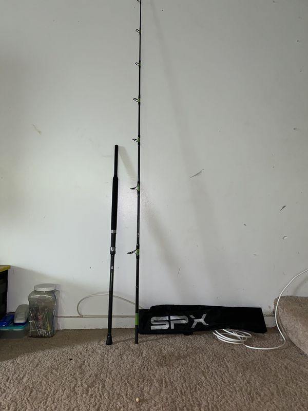 SPX PE2 FISHING PLUGGING ROD