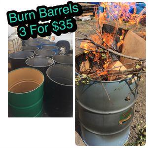 Burn Barrels - for Sale in Grosse Pointe Park, MI