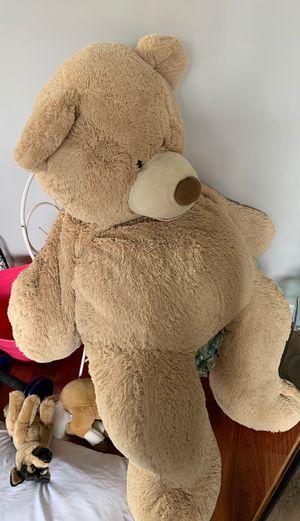 Oversized stuffed teddy bear from Costco for Sale in Vienna, VA