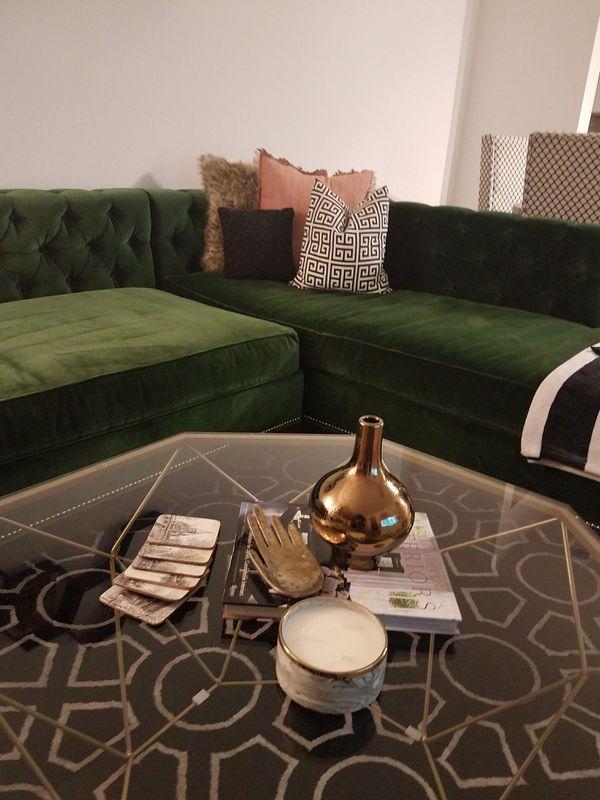 Madera Crystal Table Lamp