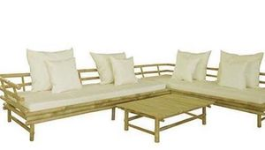 Sectional Sofa Coffee Furniture Mubleria Mueble Silla Zew Bamboo Set for Sale in Doral, FL