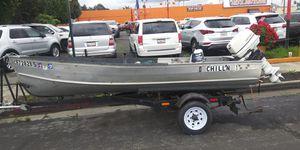 Deep Hull aluminum fishing boat for Sale in Hayward, CA