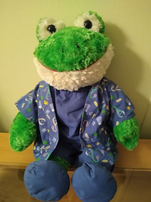 Build a Bear Frog in scrubs for Sale in Palm Shores, FL