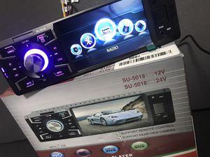 Esterio FM Bluetooth nuevo calado 4 pulgadas de ancho for Sale in Los Angeles, CA