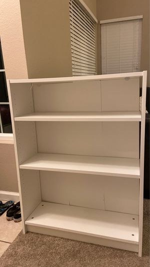 White bookcase for Sale in Vista, CA