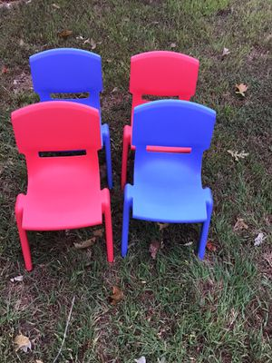 Kids Plastic Stack Chairs for Sale in Douglasville, GA