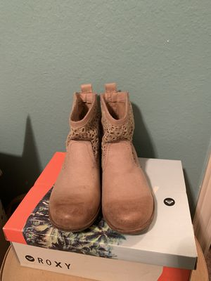 Tan ankle boots for Sale in Plano, TX